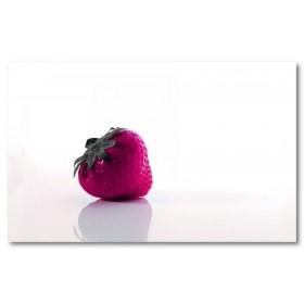 Αφίσα (μπλε, φράουλα, φρούτα, λευκό, άσπρο)